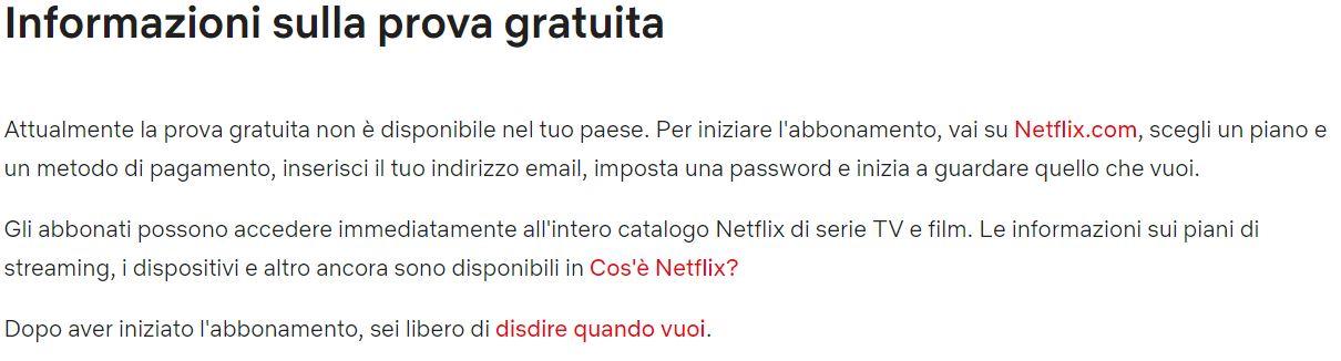 info netflix
