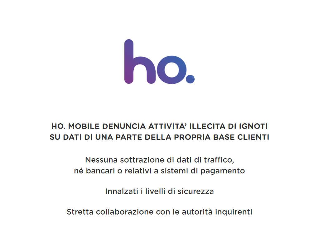 Ho mobile comunicato